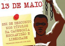 PROMOÇÃO 13 DE MAIO NA EDITORA ALAMEDA