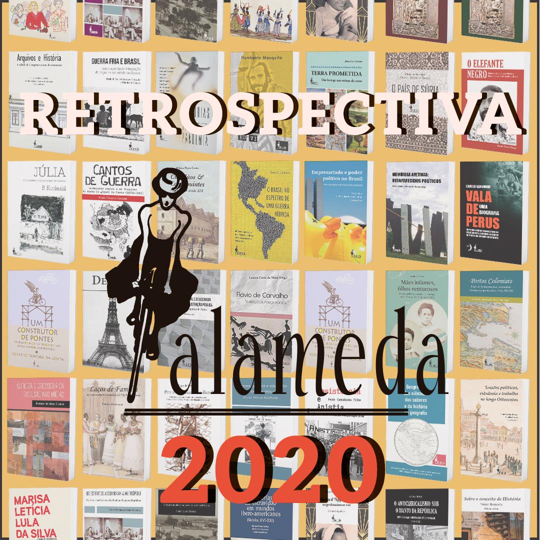 Retrospectiva 2020 da editora Alameda